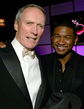 Clint Eastwood and Usher
