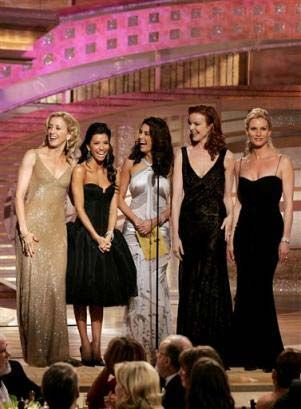 The cast of Desperate Housewives