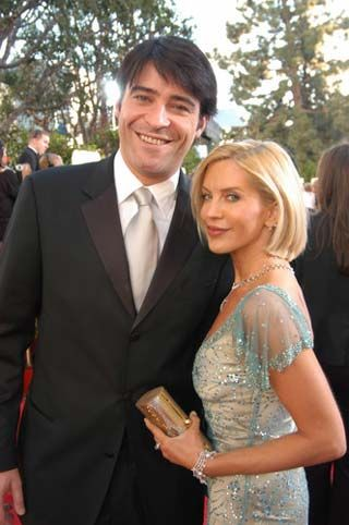 ER's Goran Visnjic with his lovely wife Ivana Vrdoljak