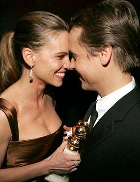 Hilary Swank and husband Chad Lowe