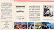 Trip to Italy brochure